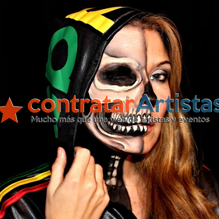 Body painting. Espectacular Bodypainter en Madrid para eventos