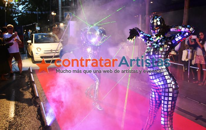 Performances con bailarinas | ContratarArtistas.com