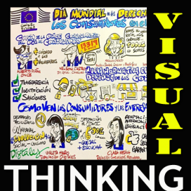 VISUAL THINKING. Artista del Visual Thinking para eventos. Resúmenes gráficos en vivo